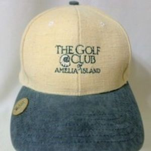 Golf Club Amelia IslandAdjustable Embroidered Cap